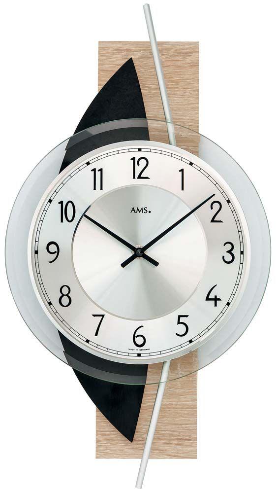 Designové hodiny AMS 9551 na zeď