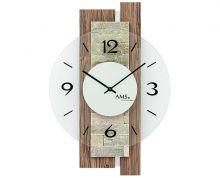 Nástěnné designové hodiny ams 9543