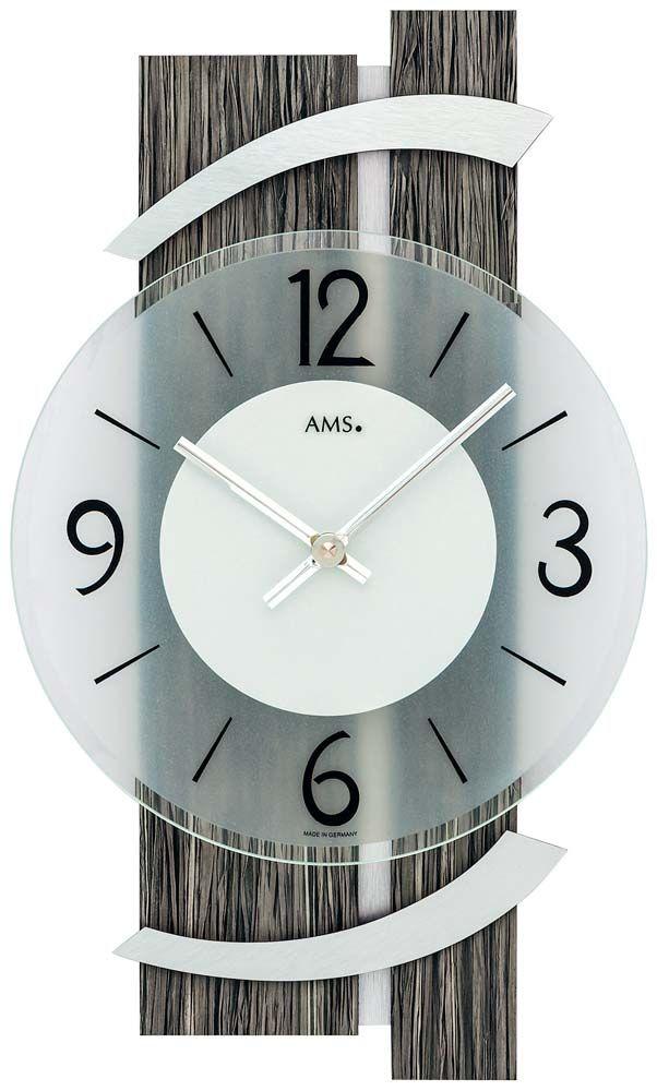 Nástěnné designové hodiny ams 9547