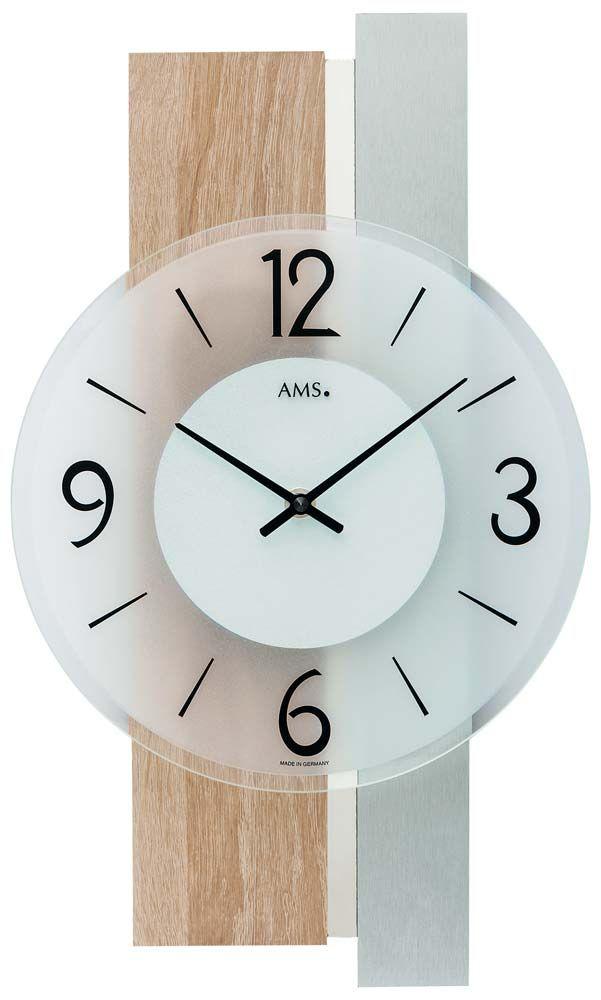 Nástěnné designové hodiny ams 9554