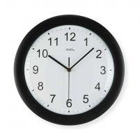 Nástěnné hodiny ams 5935 rádiem řízené černá