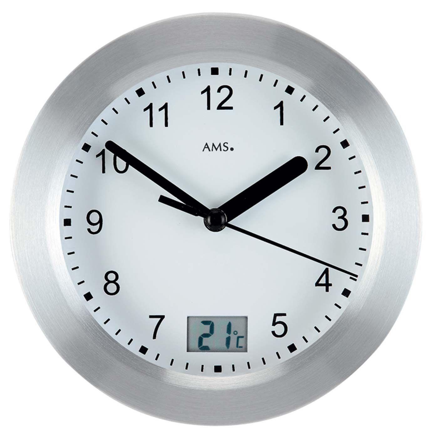 kovové hodiny voděodolné ams 9223