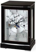 Stolní mechanické hodiny ams 2171/11 černý dub