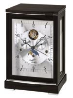 Mechanické stolní hodiny AMS 2170/11 černý dub