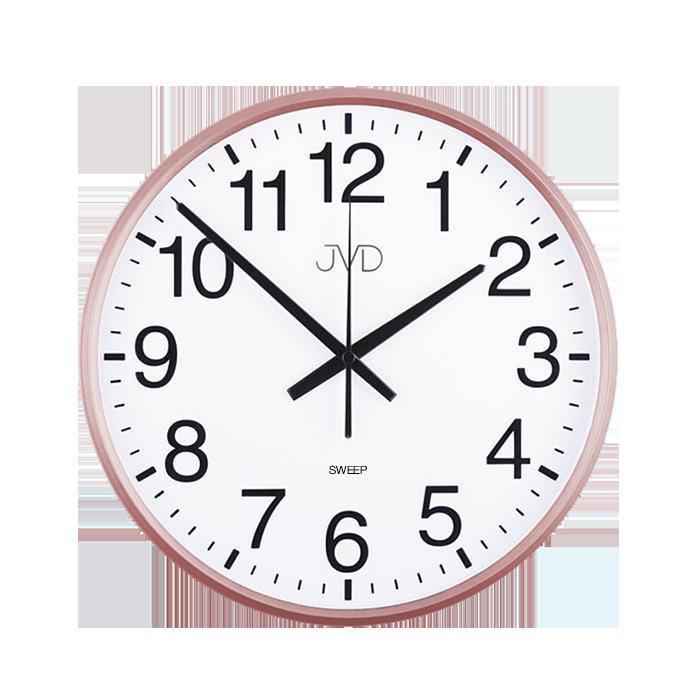 Nástěnné hodiny Hodiny JVD rosé HP684.3 Nástěnné hodiny