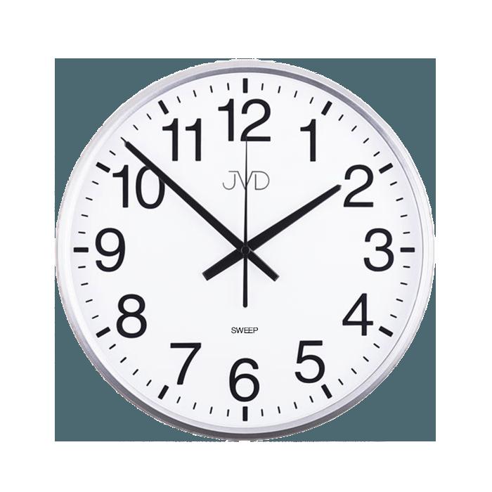 Nástěnné hodiny Hodiny JVD stříbrné HP684.1 Nástěnné hodiny