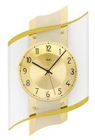 Designové nástěnné hodiny ams 5515 rádiem řízené