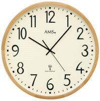 Nástěnné hodiny kulaté ams 5534, rádiem řízené