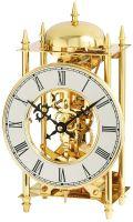 Stolní mechanické hodiny  ams 1183 zlatá