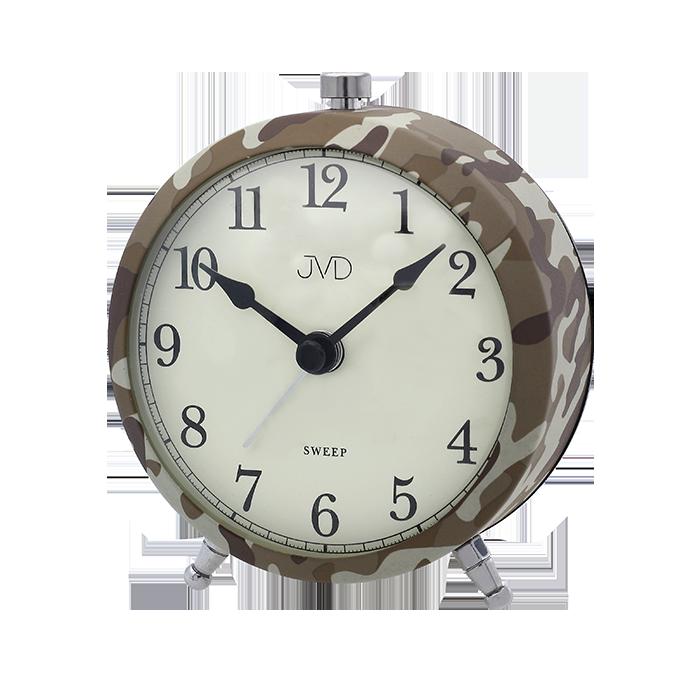 Nástěnné hodiny Budík JVD maskáčový SRP2409.1 Nástěnné hodiny