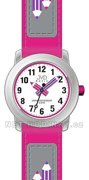 JVD Náramkové dětské hodinky pro holky, dívčí hodinky, hodinky pro kluky J 7109. 1.1