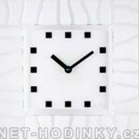 bílá hodiny čírá