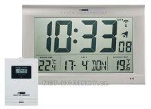 Nástěnné digitální hodiny s venkovním senzorem