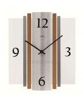 Hodiny quartzové AMS 9390 hodiny na zeď hranaté