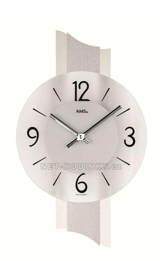 Hodiny quartzové AMS 9394 hodiny na zeď kulaté