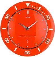 Hodiny řízené radiovým signálem AMS 5940, AMS 5941, AMS 5942, AMS 5943, AMS 5944, hodiny na zeď kulaté
