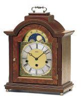Stolní mechanické luxusní hodiny AMS 2195/1 ořech, AMS 2195/9 třešeň