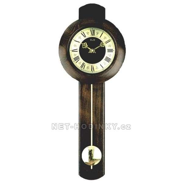 Hodiny kyvadlové QUARTZ dřevo, hodiny na stěnu německý strojek