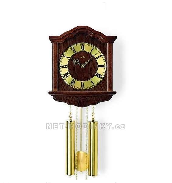 Mechanické kyvadlové hodiny AMS 206/1 ořech, AMS 206/4 dub AMS 206/1 ořech