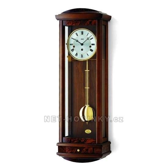 Mechanické kyvadlové hodiny AMS 2607/9 třešeň, 2607/1 ořech 2607/1 ořech
