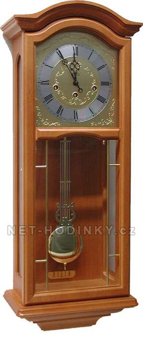 Mechanické kyvadlové hodiny AMS 2651/1 ořech, AMS 2651/9 třešeň ams 2651/9 třešeň