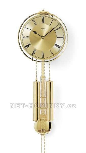 Mechanické kyvadlové hodiny AMS 356, hodiny na zeď