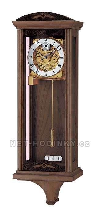 Mechanické kyvadlové hodiny AMS 3682/1 ořech 3682/1 ořech