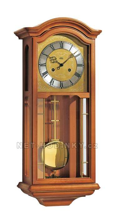 Mechanické kyvadlové hodiny AMS 651/9 třešeň, AMS 651/1 ořech ams 651/9 třešeň
