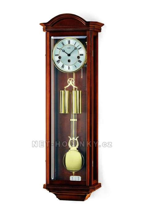 Mechanické kyvadlové hodiny AMS 2672/1 ořech, AMS 2672/9 třešeň AMS 2672/1 ořech