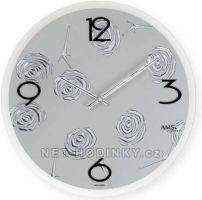 Moderní nástěnné hodiny AMS 9312