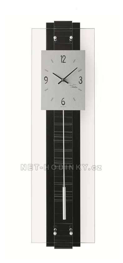 Quartzové kyvadlové pendlovky AMS 7392, hodiny na zeď