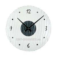 Nástěnné hodiny kulaté ST1171.6 skleněné SKLADEM