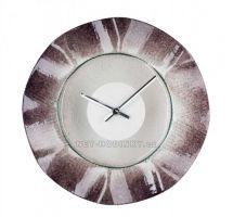 Nástěnné skleněné hodiny Chaos 1195.2 kulaté