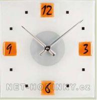 oranžové hodiny