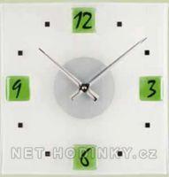zelené hodiny