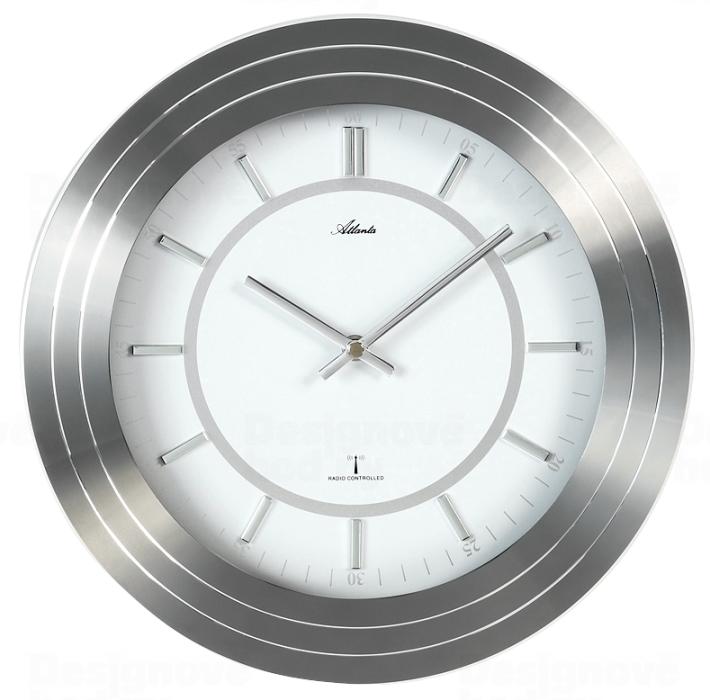 Nástěnné hodiny Designové nástěnné hodiny AT4375 řízené signálem DCF 30cm Atlanta Nástěnné hodiny