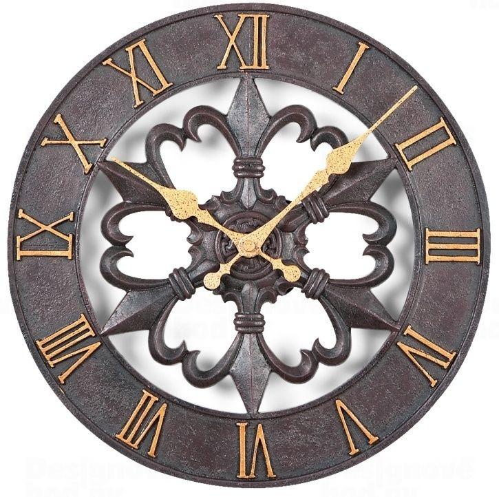 Kovové retro nástěnné hodiny Atlanta AT4445