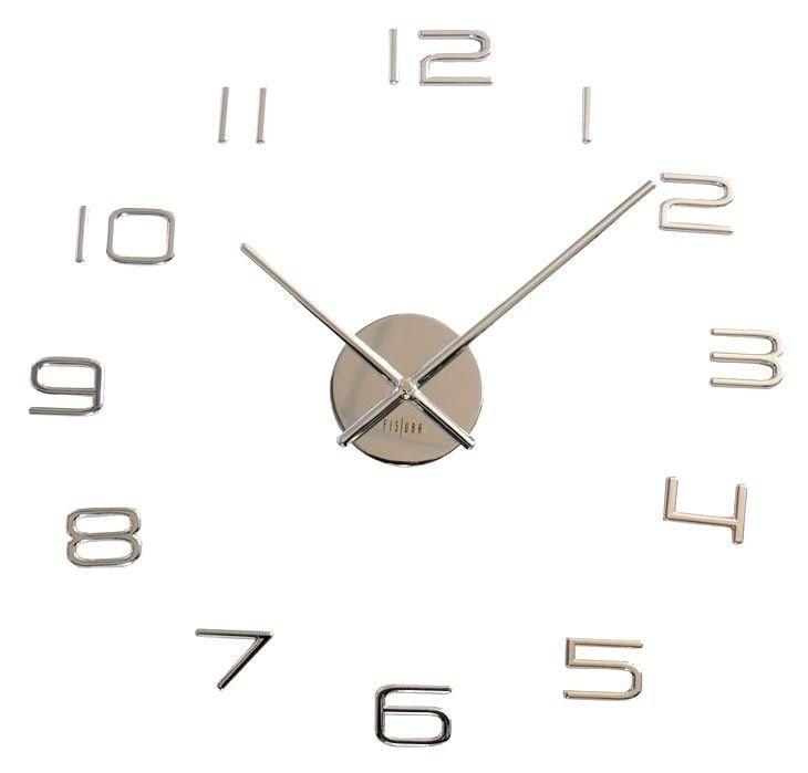 Nalepovací hodiny na zeď Fisura CL0075