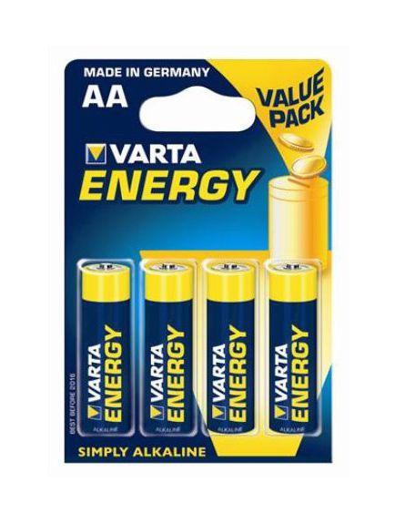 Varta Alkalické tužkové baterie VARTA Energy AA (4ks - blistr)