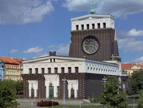 kostel Nejsvětějšího srdce Páně v Praze na Vinohradech