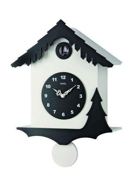 Kukačkové hodiny designové AMS 7391