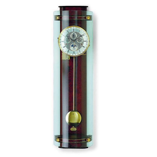 Luxusní mechanické nástěnné hodiny AMS 3633/1