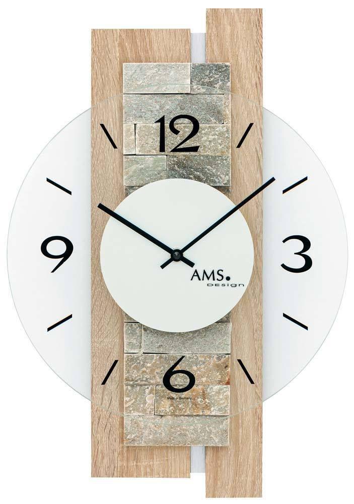 Moderní designové nástěnné hodiny AMS 9542
