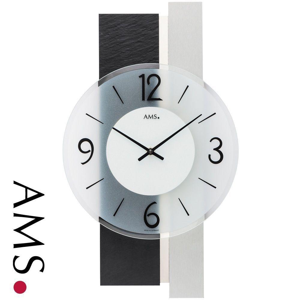 Moderní designové nástěnné hodiny AMS 9555