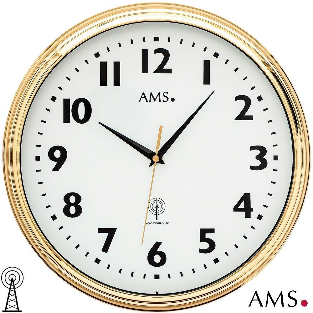 Nástěnné hodiny AMS 5963 řízené rádiem