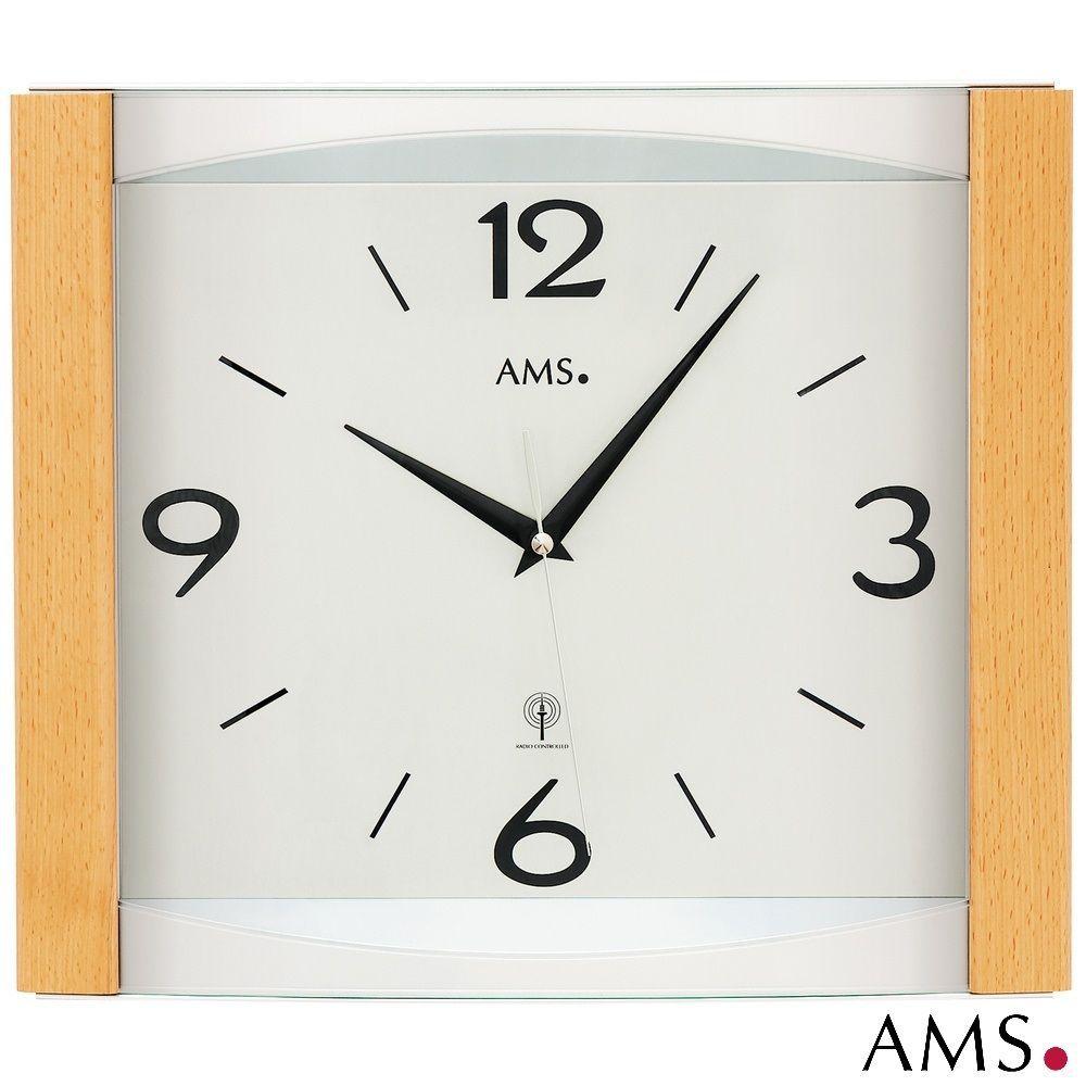 Nástěnné hodiny řízené rádiovým signálem AMS 5616