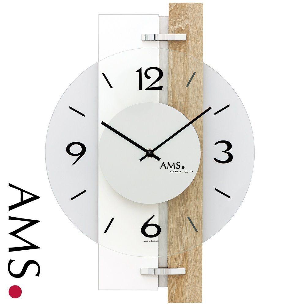 Originální nástěnné hodiny AMS 9557