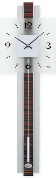 Pendlovky quartz nástěnné hodiny AMS 7326