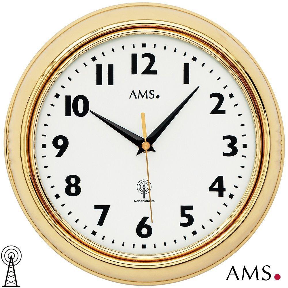 Rádiem řízené nástěnné hodiny AMS 5964
