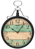 Kovové hodiny AMS 9532